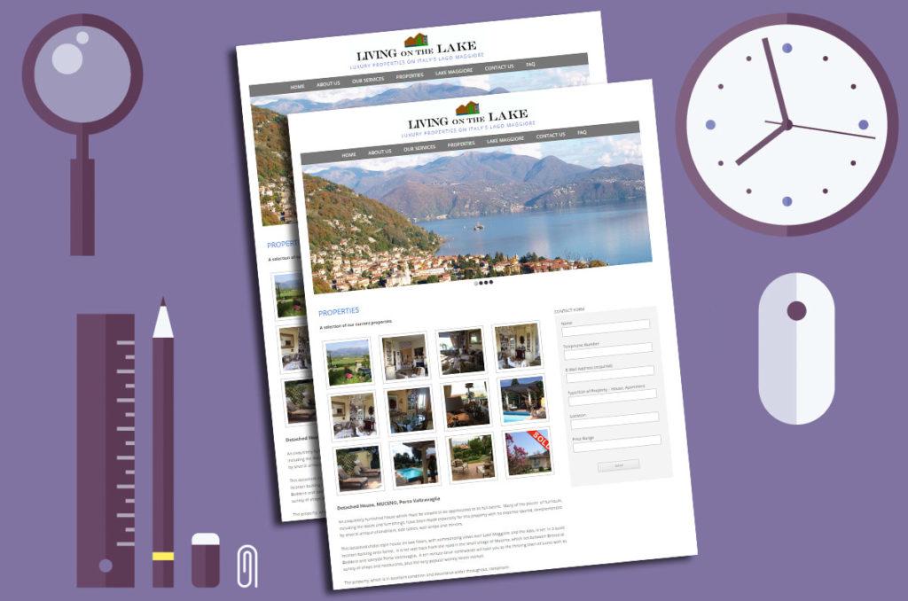 Purple web design