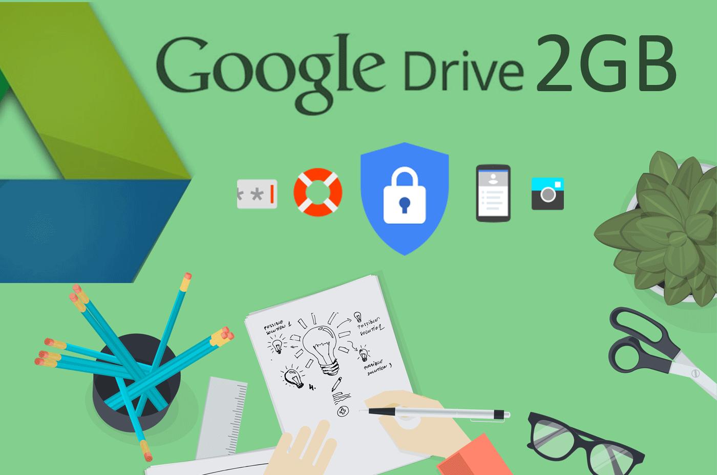 Google Gives free 2GB