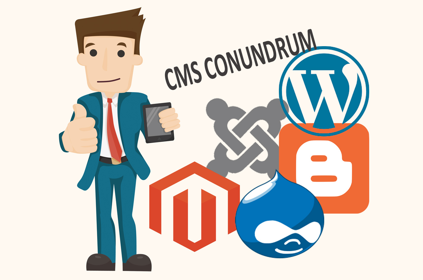 Wordpress review against drupal, magento, Joomla CMS