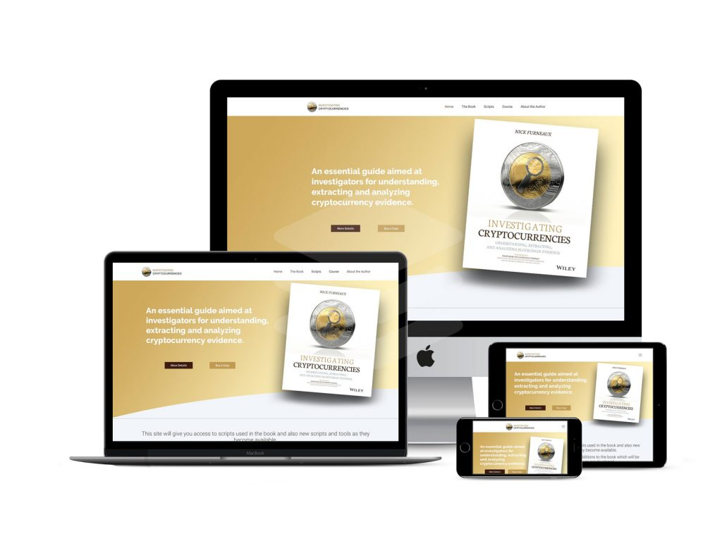 authors book web design for multi devices