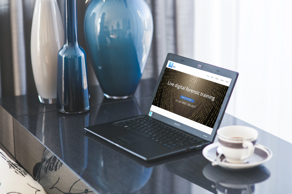 CSI Tech wordpress website work great on laptops