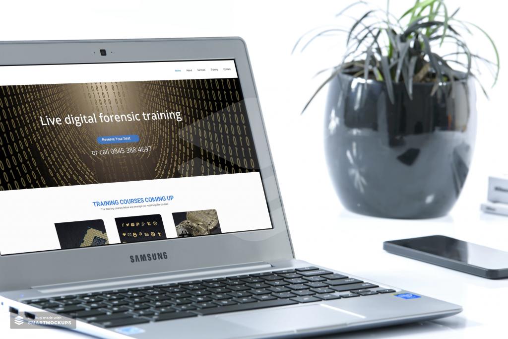 Zanet websites work great on laptops