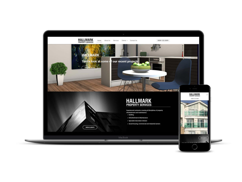 Southampton based Hallmark web site