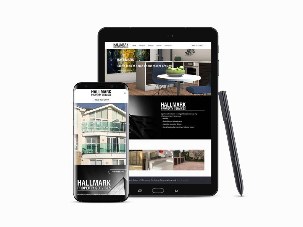 Hallmark Mobile Friendly Web Site