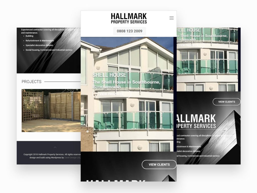 Hallmark Friendly Mobile Web Site