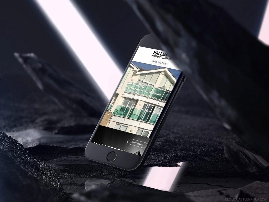Southampton Based Hallmark Mobile Web Site