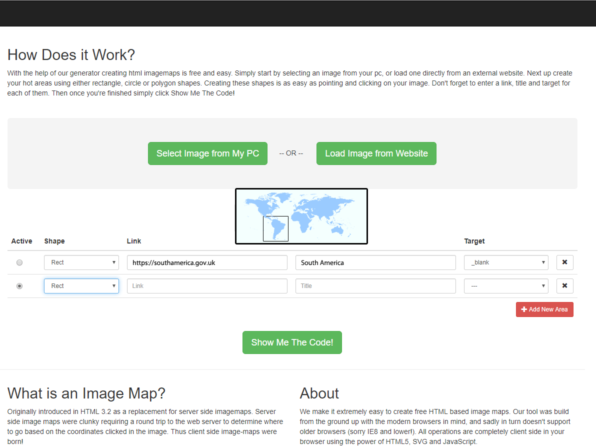 Dreamweaver Imagemap alternative