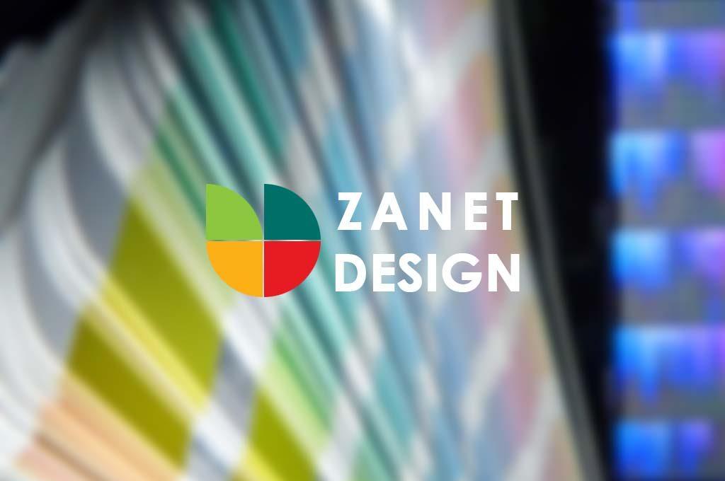 Zanet Design Branding experience
