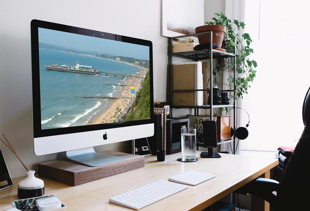 Bournemouth Design on Web monitor