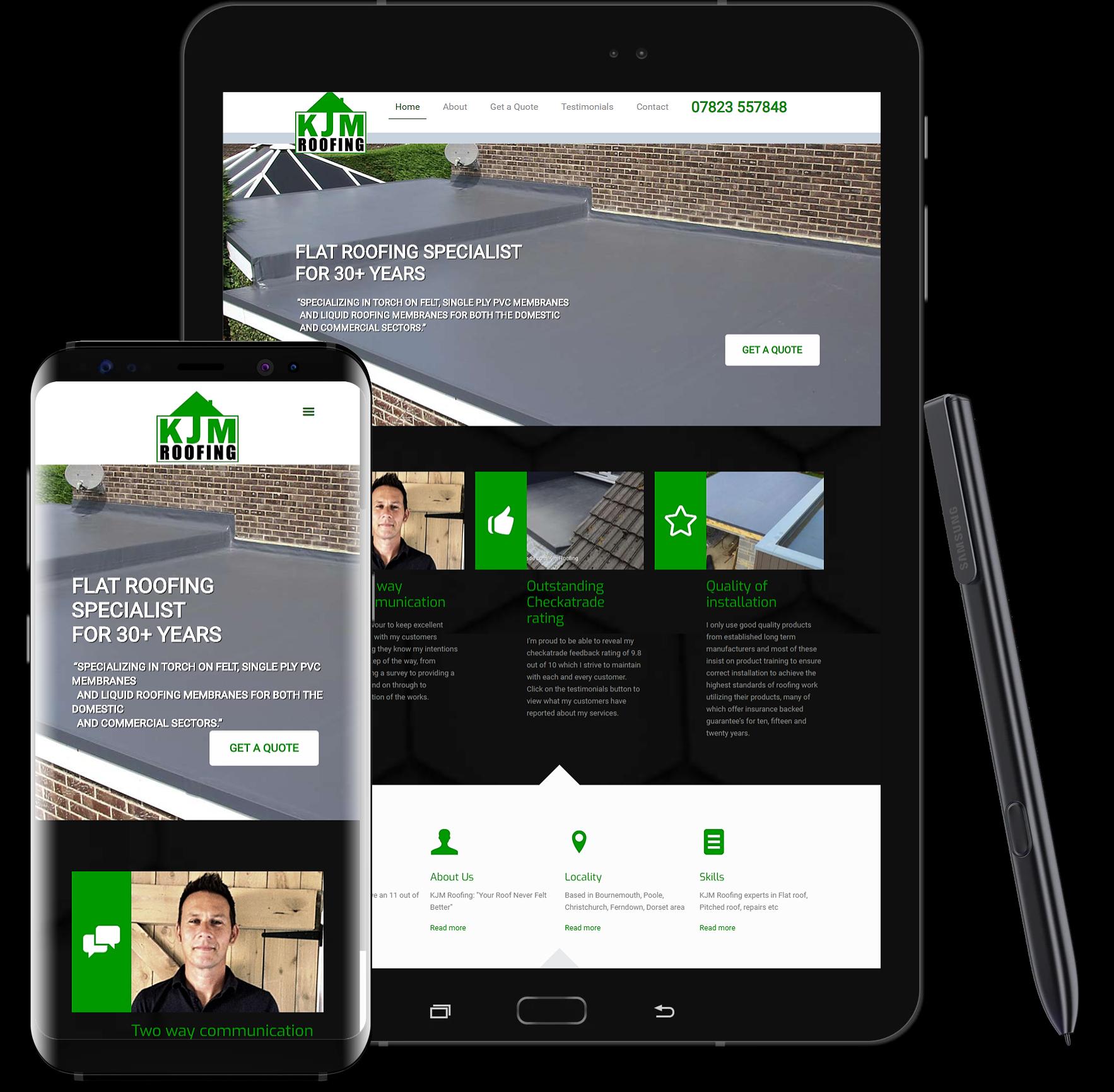 KJM Web design