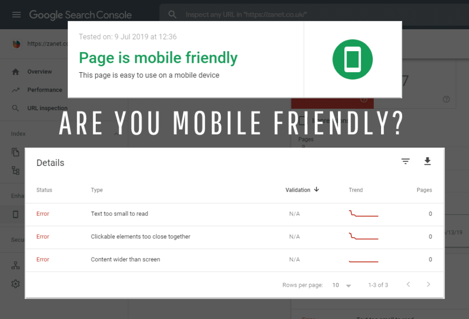 Are you website mobile friendly