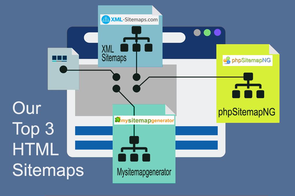 HTML Sitemap generators