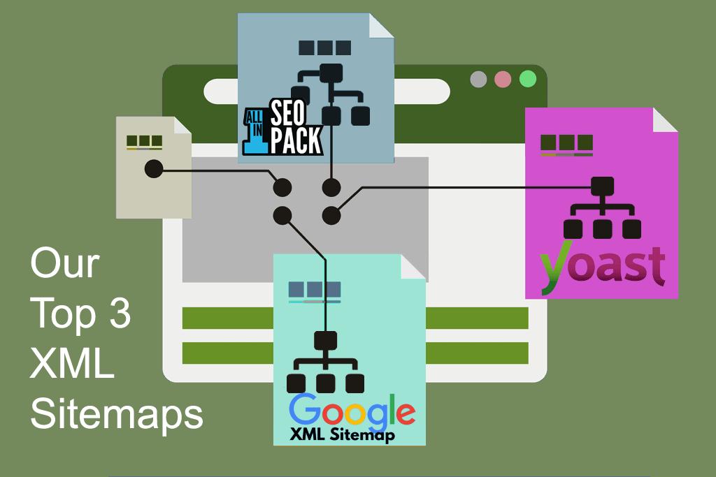 Top 3 XML Sitemap Plugins