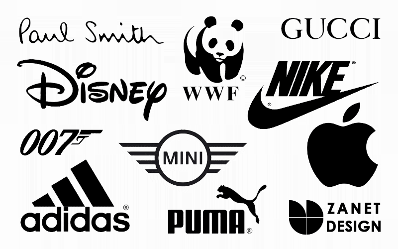 The Meaning Of Color Black in Logo Design