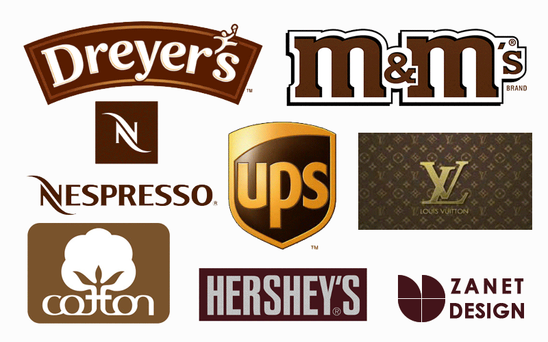 The Meaning Of Color Brown in Logo Design