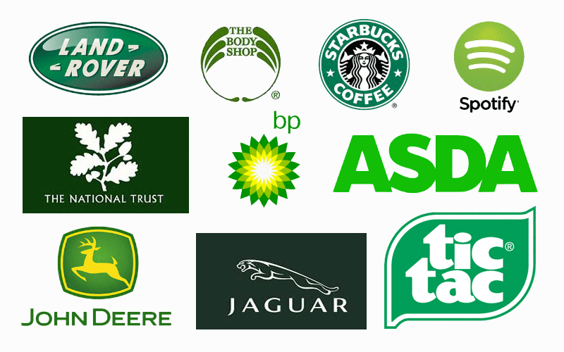 The Meaning Of Color Green in Logo Design