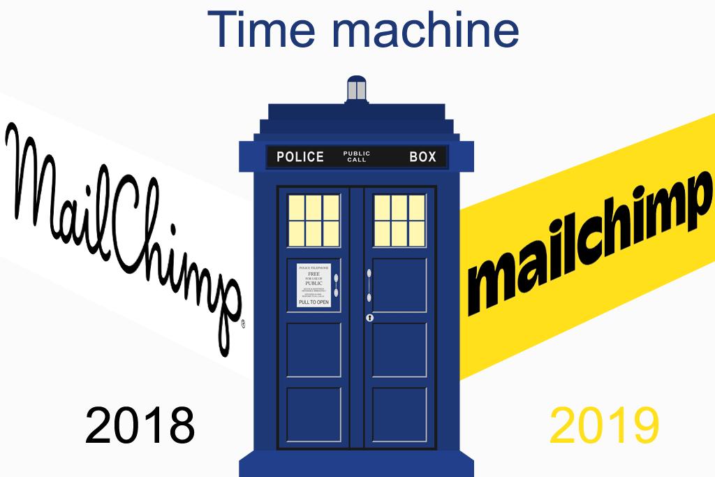 Mailchimp logo font and color