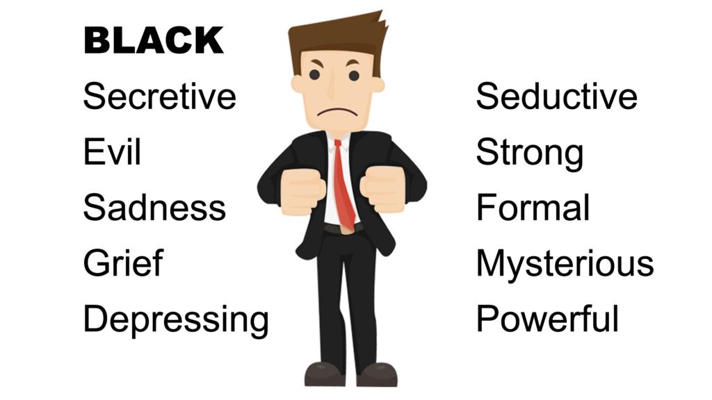 Color Black Psychological Meaning