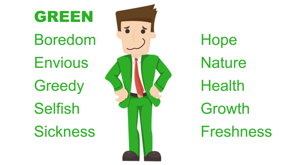 Color Green Psychological Meaning