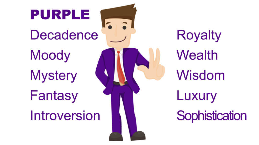 Color Purple Psychological Meaning