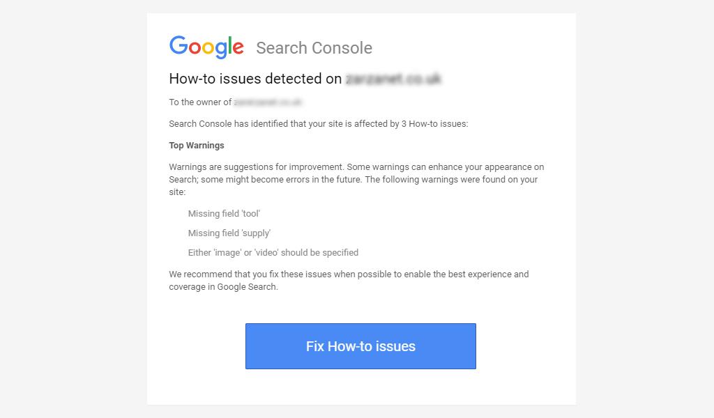 Fix Google Search Console