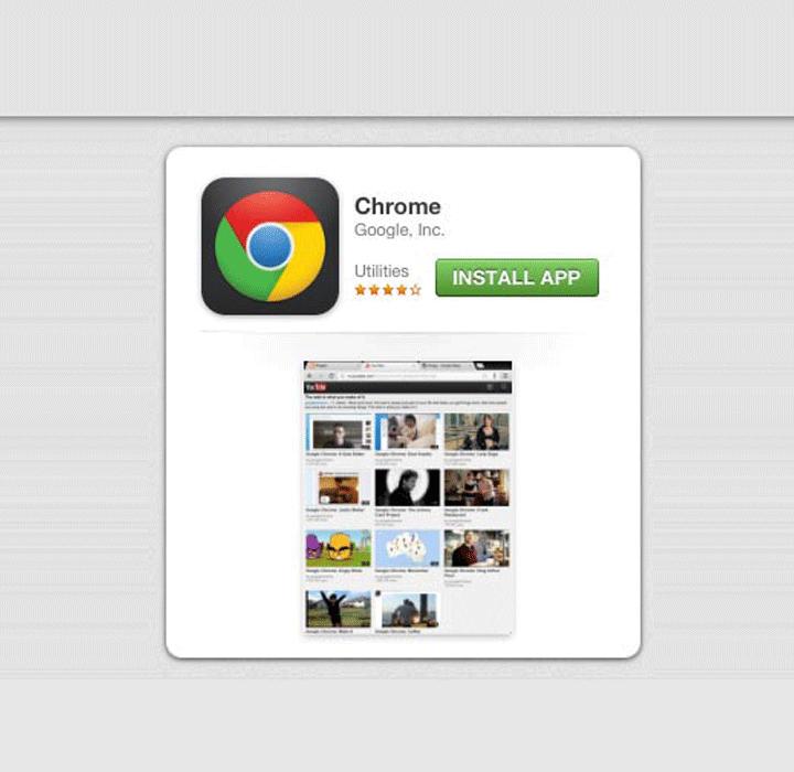 Reverse image on an Apple iPad