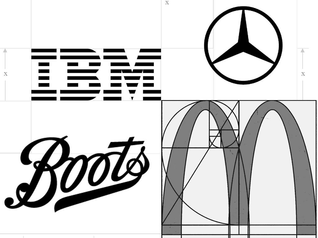 Consistency in logo design: Mercedes, McDonald's or Boots IBM