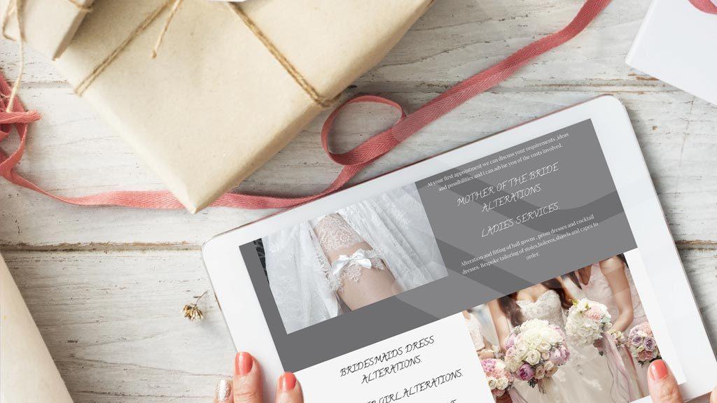 Pink Branding in webdesign