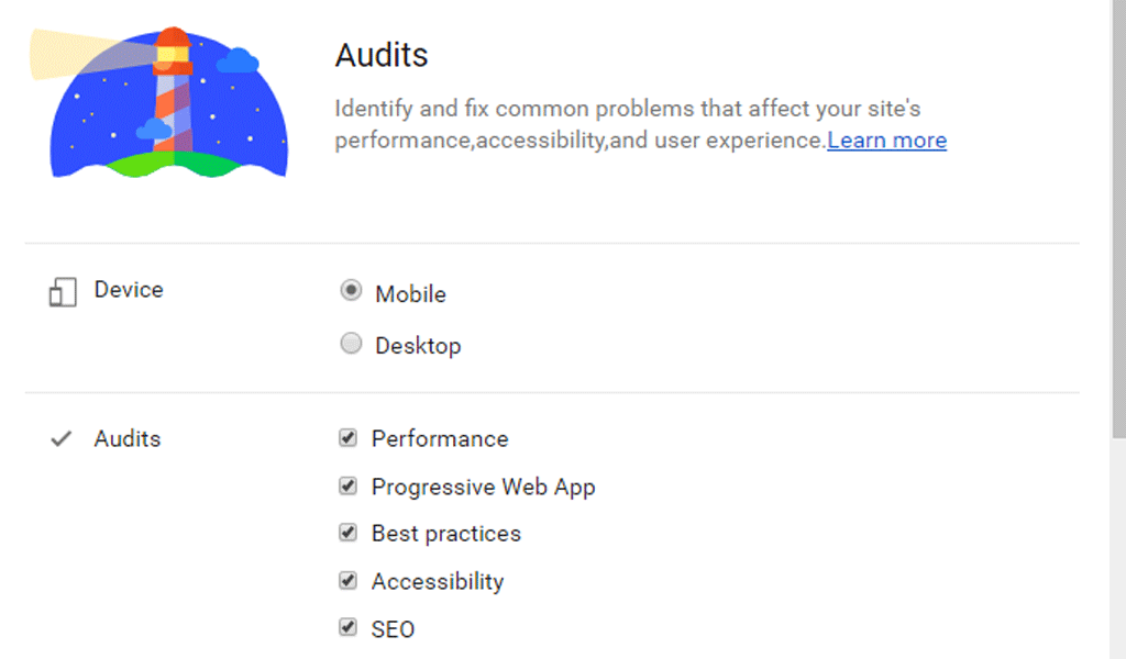 web accesibility audit