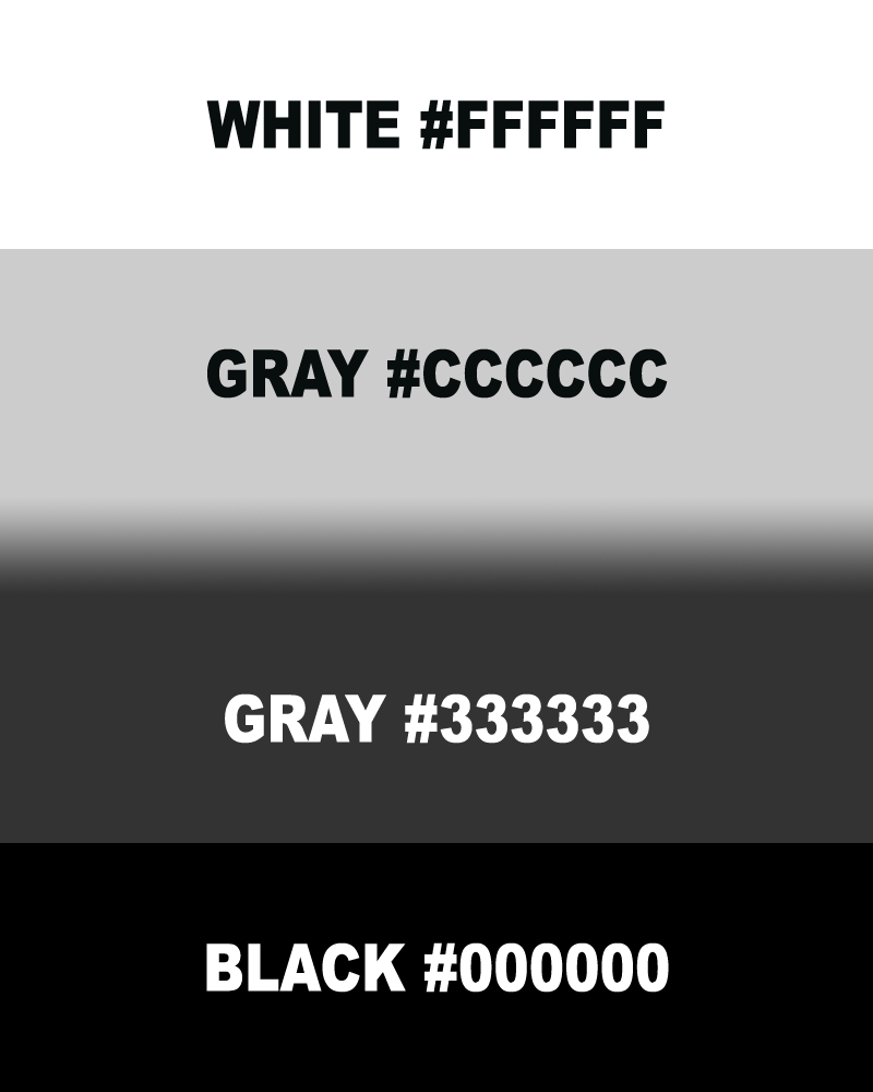Gray hex colors