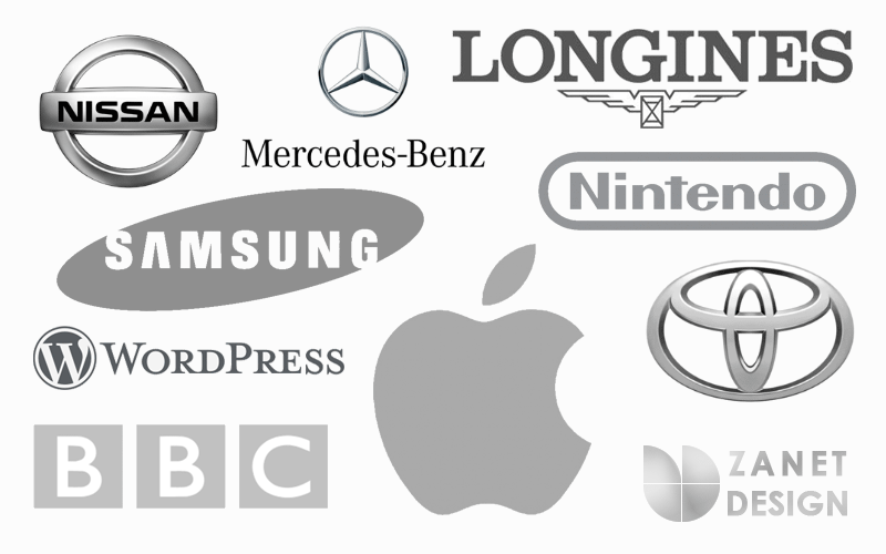 The Meaning Of Color Gray in Logo Design
