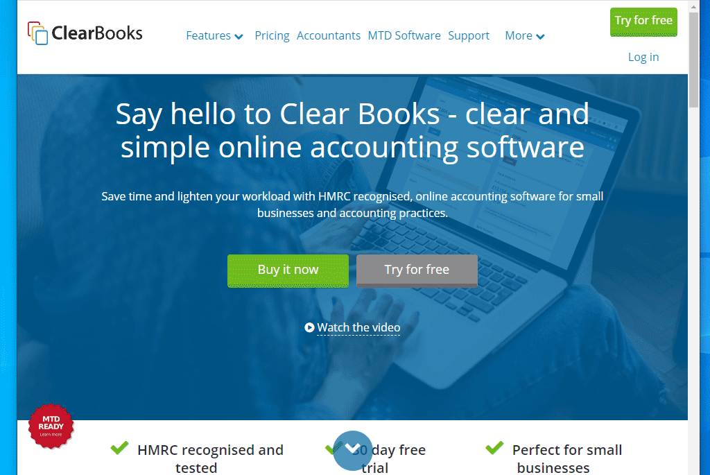 Clear Books accounting tool