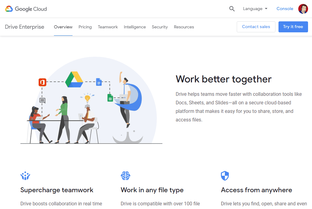 Google Drive - great Web Tools for Small Business Success