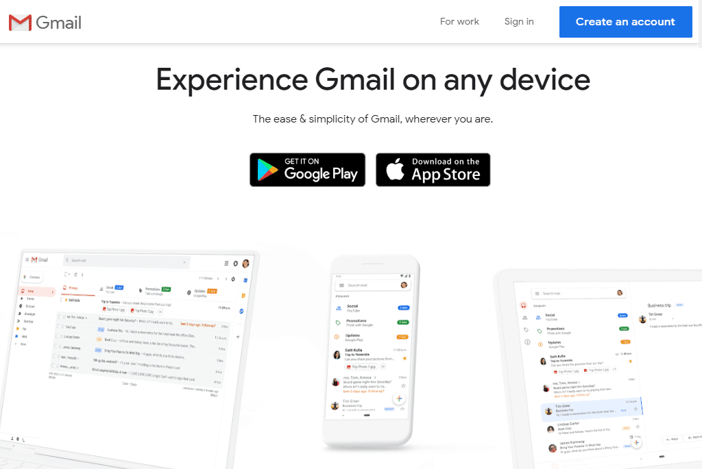 Gmail ideal email tool for a small business