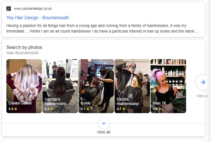 Google My Business images are even more important