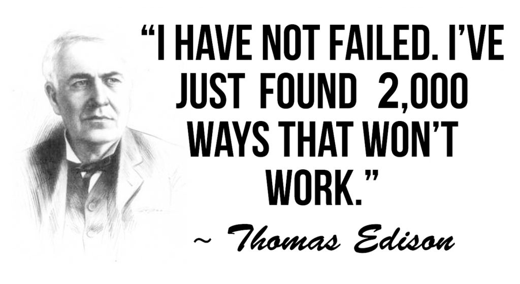 Thomas Edison didn't write about Google My Business Errors