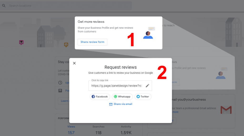 How To Create A Google My Business Review Link
