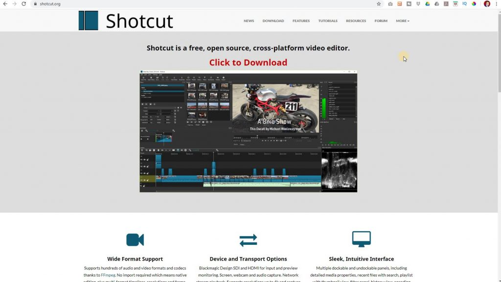 Edit Videos For YouTube with Shotcut