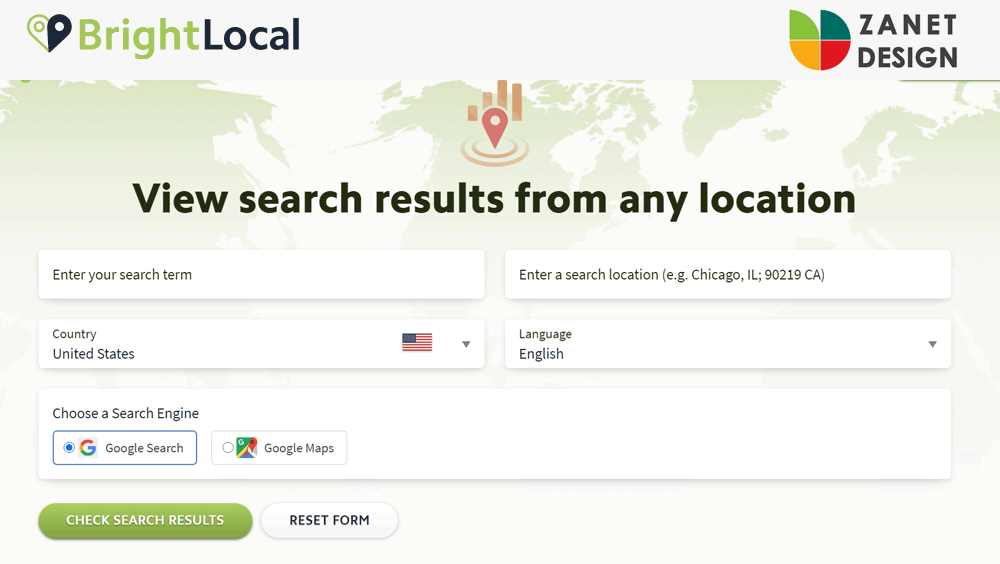 Check how you are found from other areas