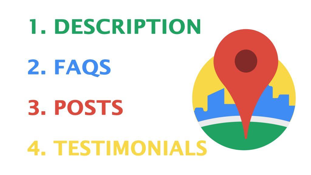 keywords into Google My Business