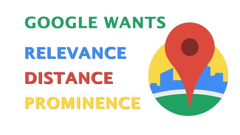 Google views keywords in Google My Business