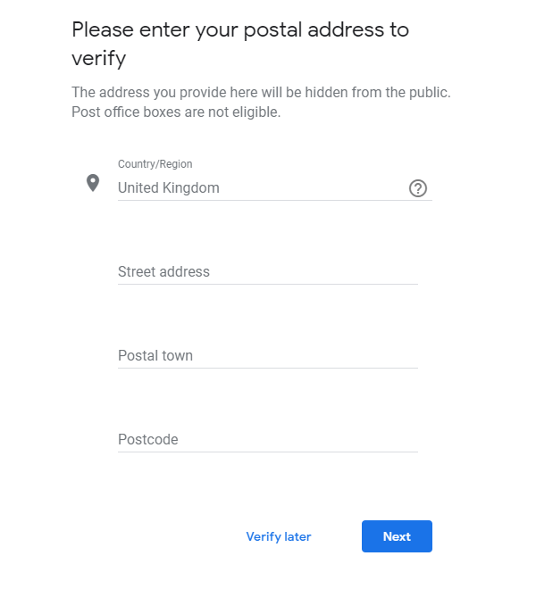 Google My Business Not Showing Up Due to Verification