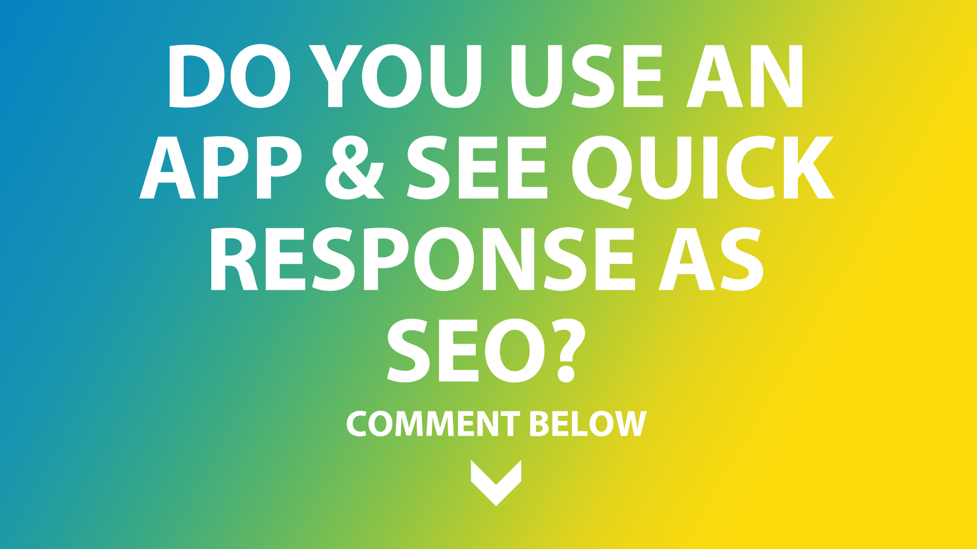 app response is useful for sales