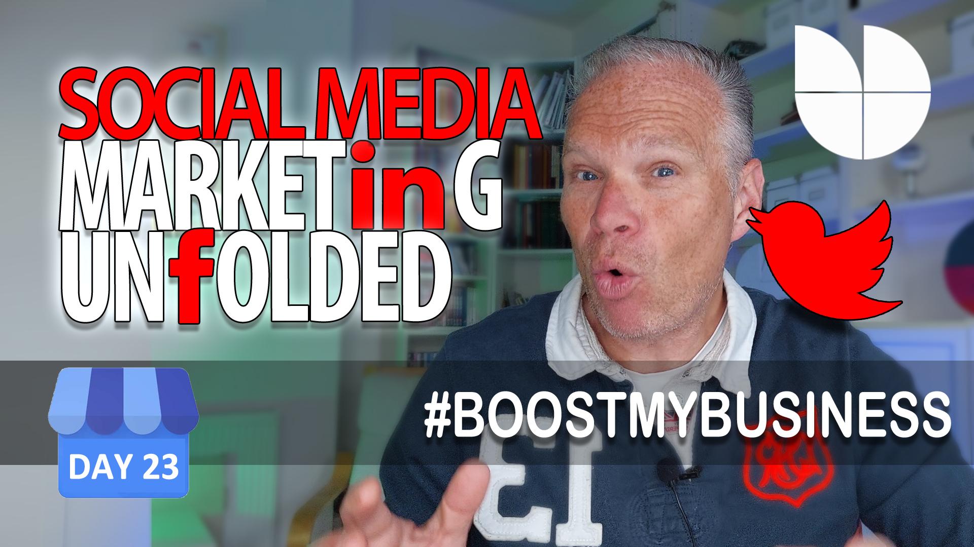 social media in Google My business
